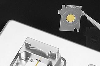 水晶センサーチップ