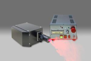 DPRLu-5W(PIV 可視化光源 シートレーザー)