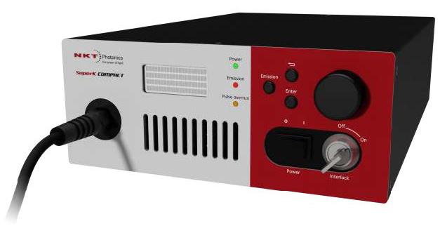 SuperK COMPACT 小型 kHz繰返し白色光光源