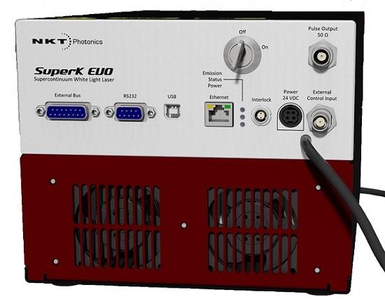 SuperK EVO HP 高出力 産業用途スーパーコンティニューム光源