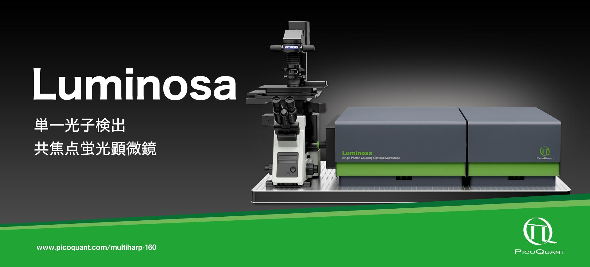 """ハイスループット・マルチチャンネル TCSPC装置 """"MultiHarp 150"""""""